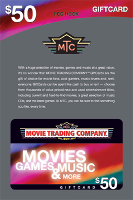 Gift Card Packaging for Movie Trading Company