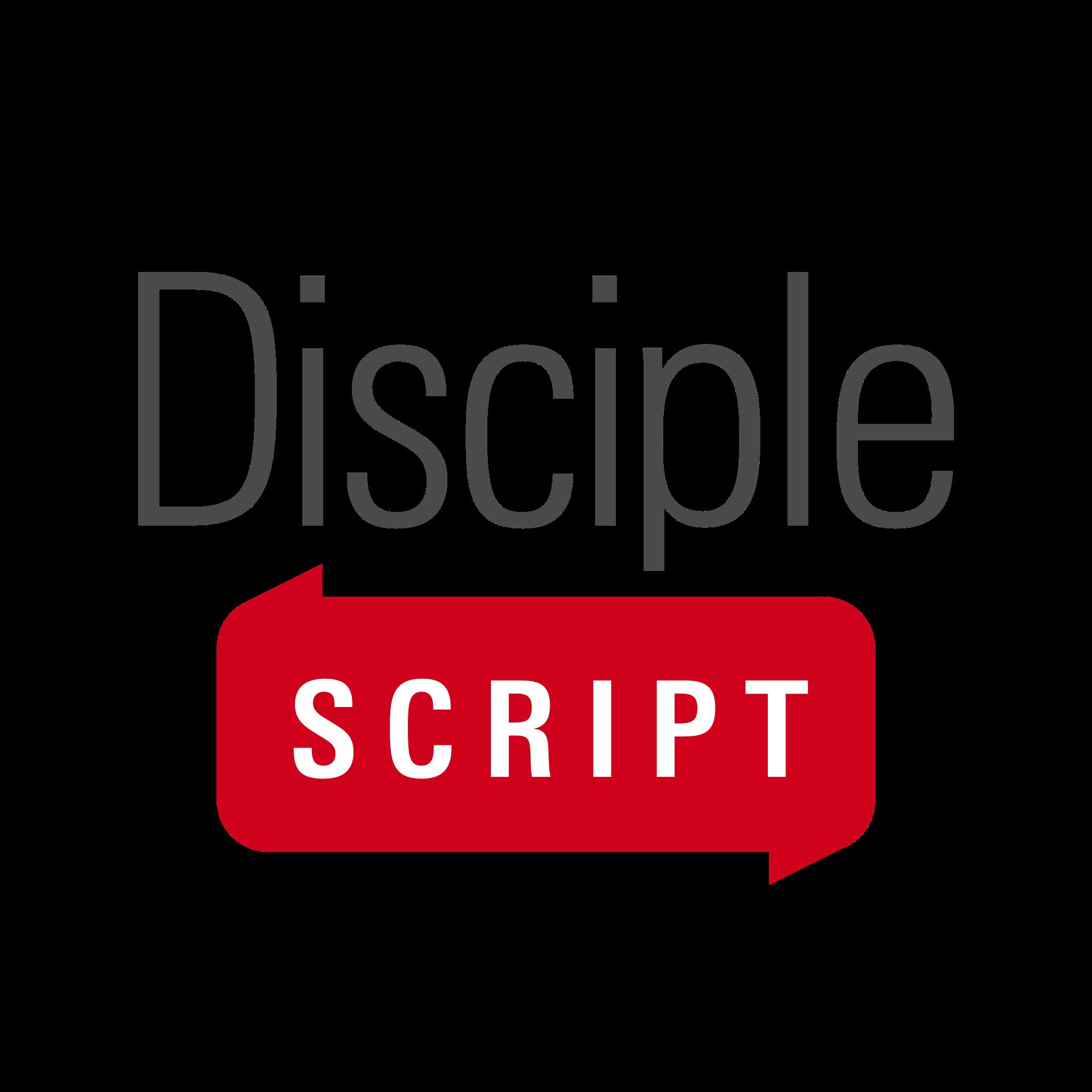 DiscipleScript Wordmark