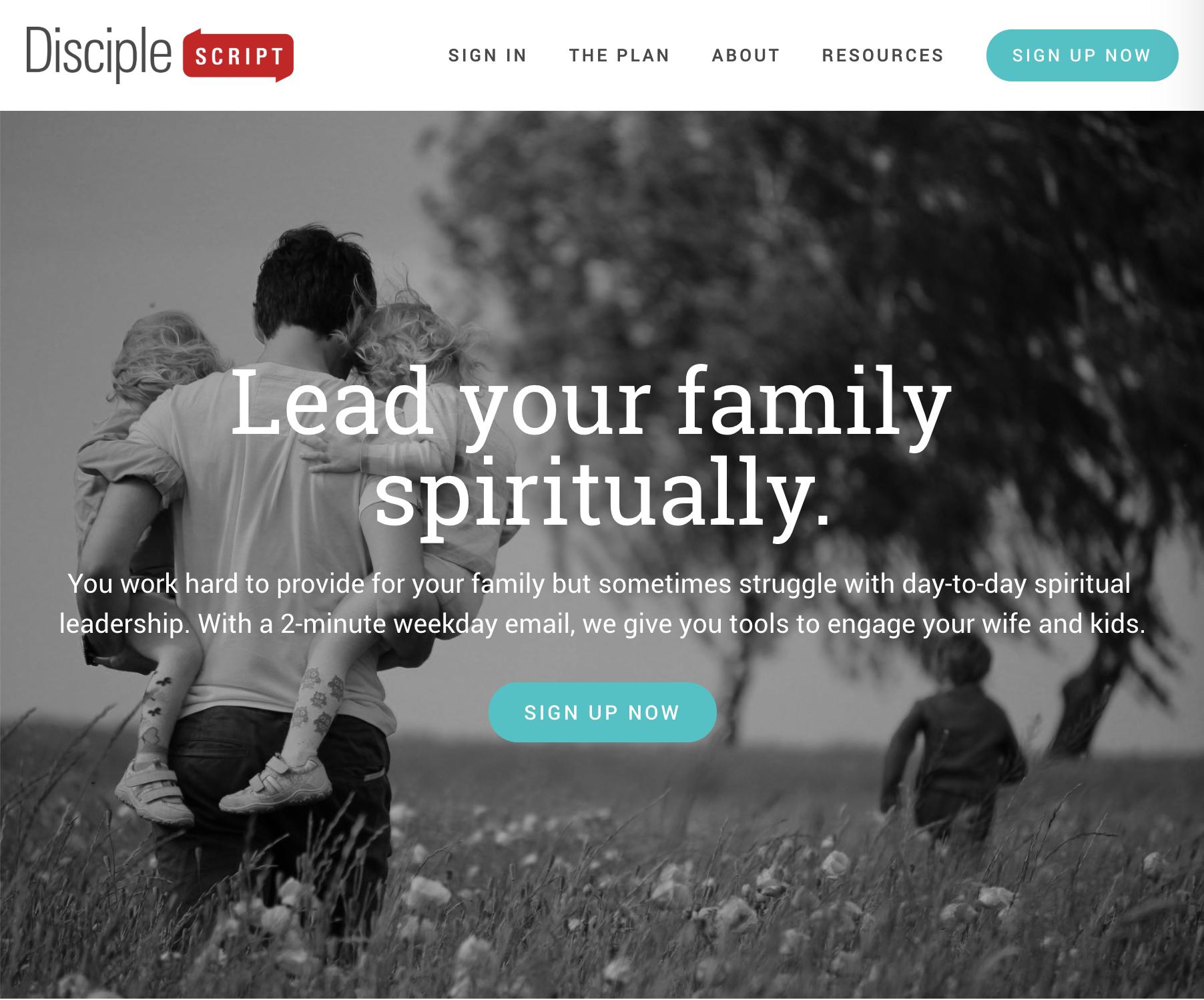DiscipleScript.com Homepage
