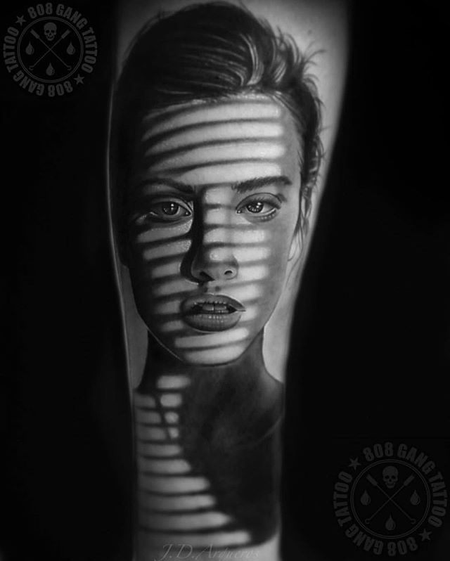 """""""What's done in the dark comes to light"""". • Tattoo Artist: @808gangtattoo  #BambooTattoo #realistictattoos • • #torontotattooshop #tattoostoronto #torontotattoos #tattootoronto #torontotattooshops #torontotattoostudio"""