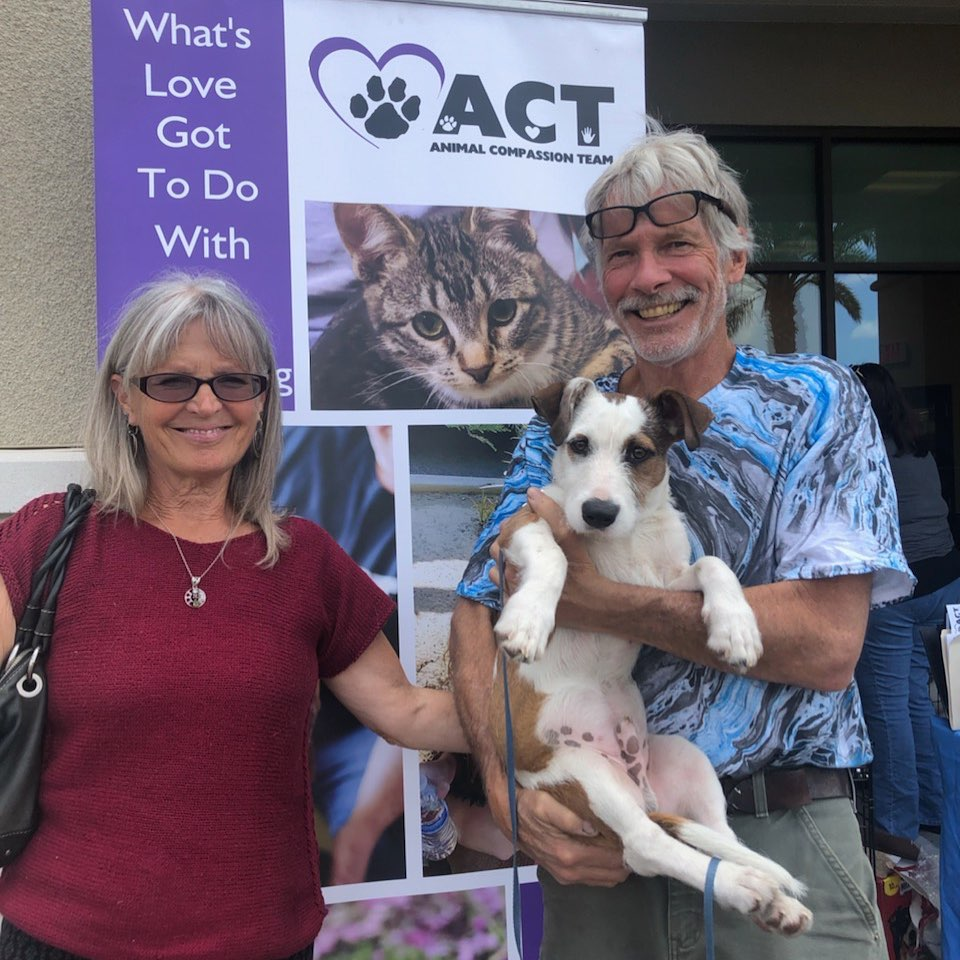 Family… - There is simply no greater gift than family. To have those around you that you love, trust and protect is what gives all our lives purpose. We believe in family at ACT and make that our goal for every pet, to have a family of their own.