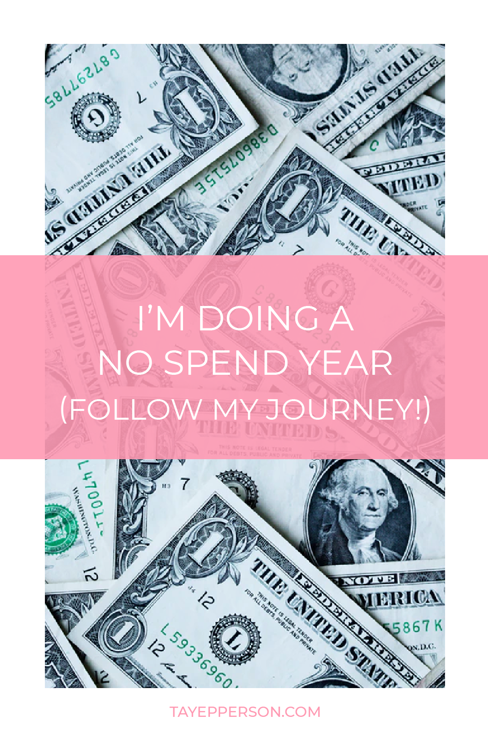 Follow my no-spend year