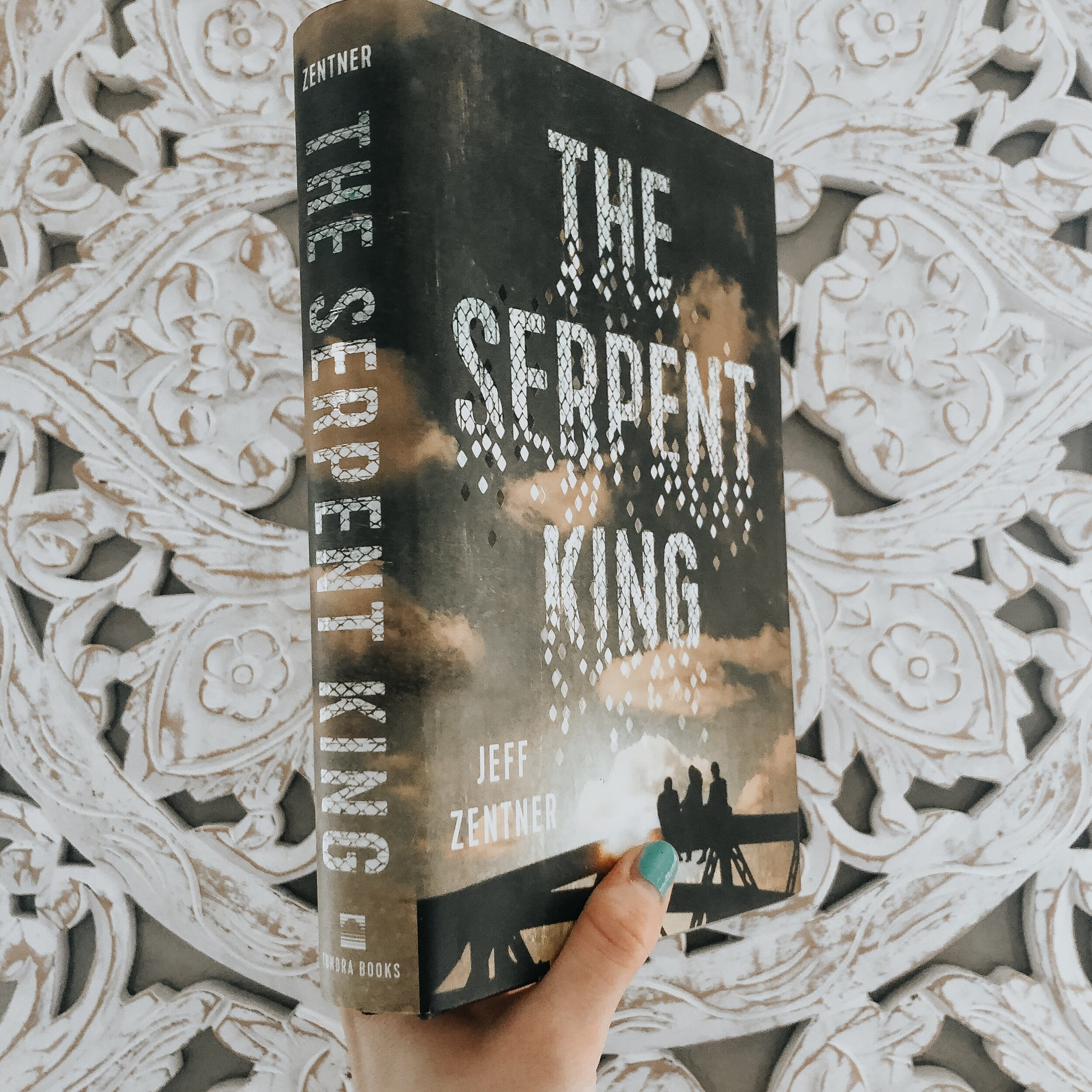 The Serpent King book