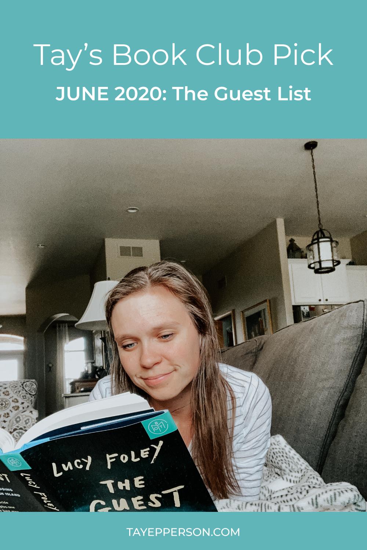 Tay's book club June 2020 Pick