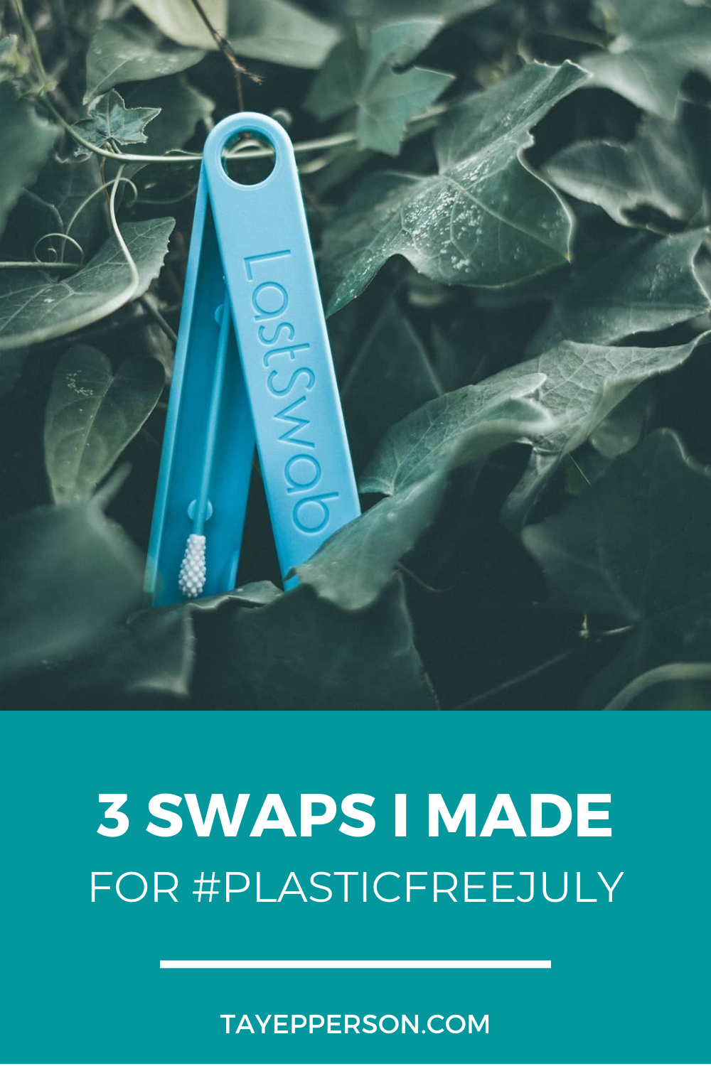 3 Swaps I made for plastic free july