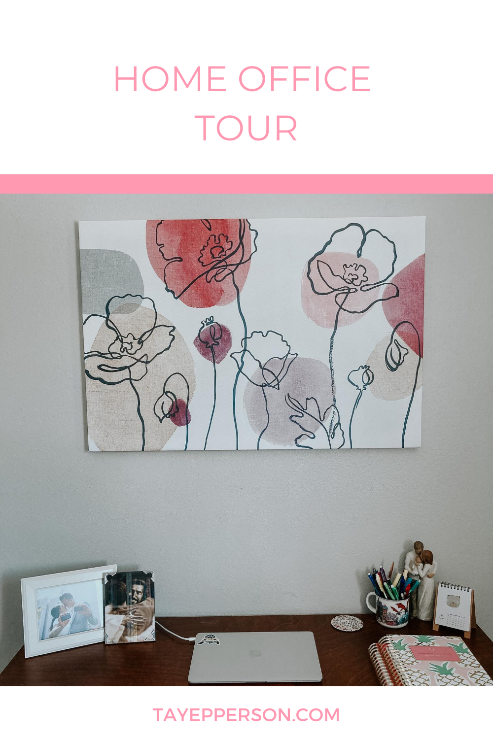Home Office Tour - Bookish Tay