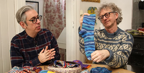 Arne & Carlos - Master Class in Sock Knitting- The Easiest Sock in the WorldIntroduction to Norwegian Stranded ColourworkNew Nordic Christmas Ball