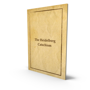 Heidelberg Catechism - The Heidelberg Catechism was written in Heidelberg at the request of Elector Frederick III, from 1559 to 1576. The Heidelberg Catechism was adopted in Heidelberg and published in German with a preface by Frederick III, dated January 19, 1563. A second and third German edition, each with some small additions, were published in Heidelberg in the same year. — Westminster Theological Seminary