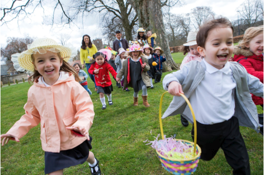 Easter egg hunt alternatives so that kids don't get overwhelmed and feel left out.