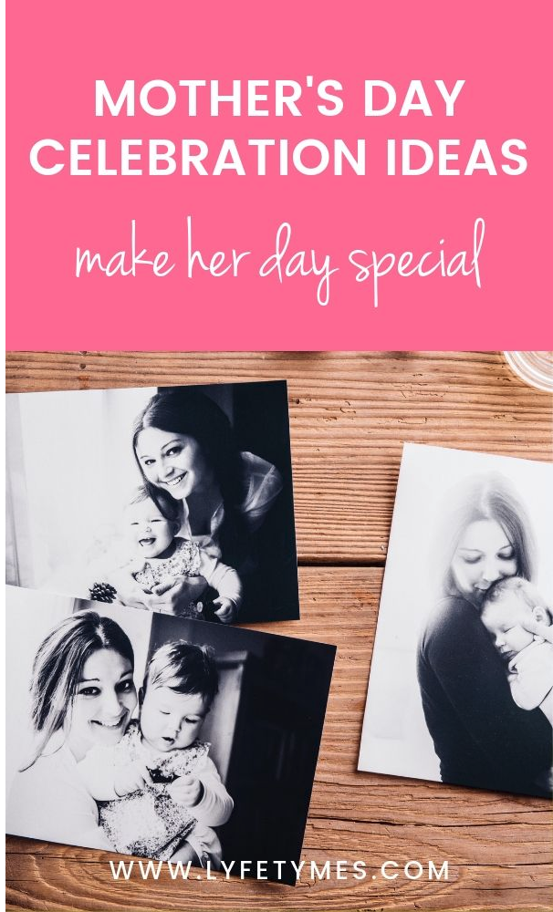 Mother's Day Celebration ideas that are more than flowers! | Blog post on Unique Mother's Day Celebration Ideas on LYFETYMES party planning blog.