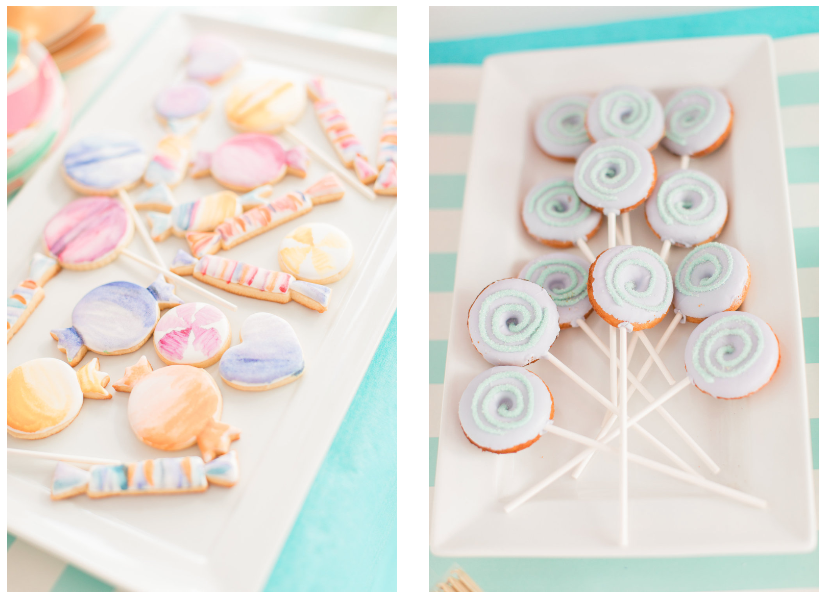 Candy-themed birthday party from Cake and Confetti . Image: The Cotton Collective | Party Planning Blogs That Will Inspire you from LYFETYMES party planning blog.