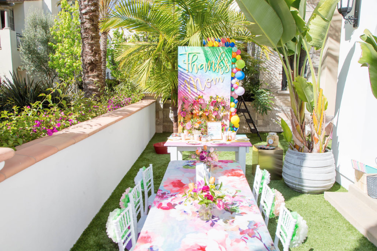 A mother's day party from The Bashery. Photo: The Bashery