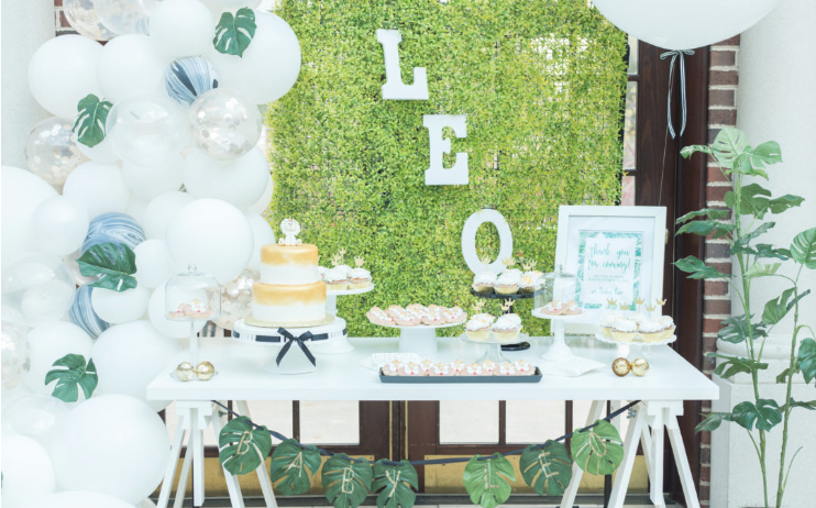 Jungle Themed Baby Shower via Black and Twine  | photo: Bethany Lane Photography | Top Party Planning Blogs