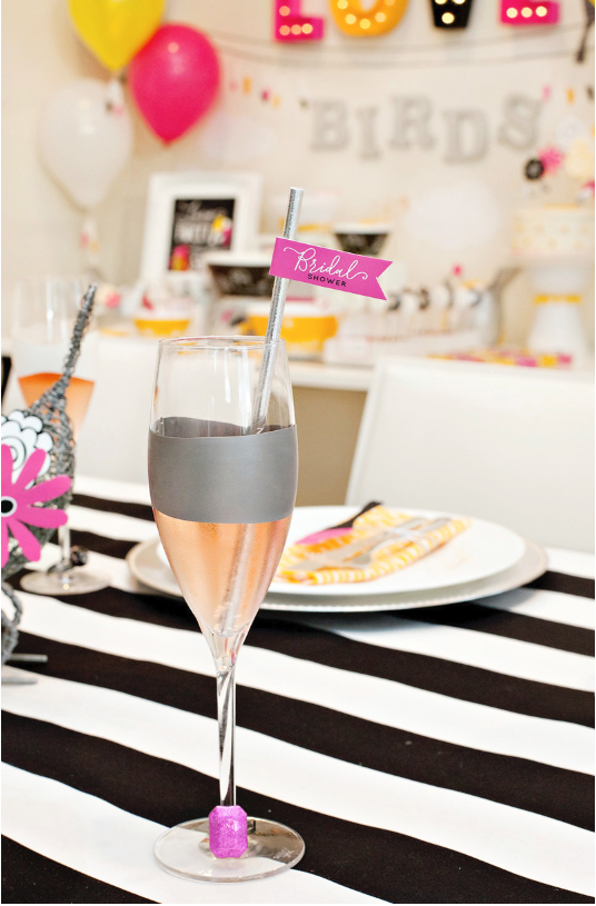 Love Birds Bridal Shower from Hostess with the Mostess  | Top Party Planning Blogs