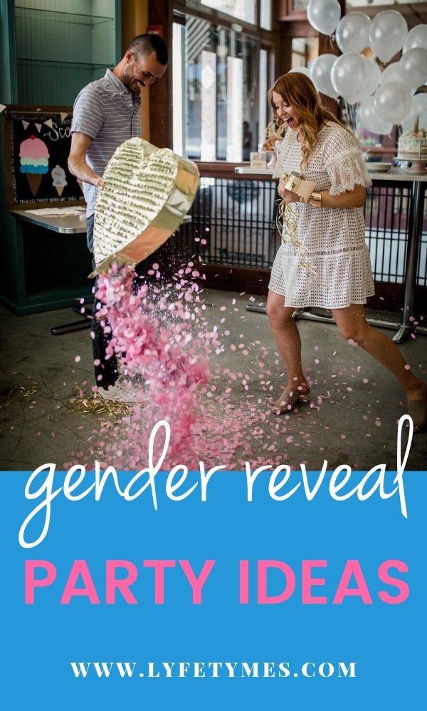 Looking for unique gender reveal party ideas to make the day special? LYFETYMES party planning blog has you covered in today's post! MUST READ—such great ideas!!