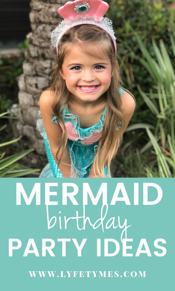 LYFETYMES has an awesome post on mermaid birthday party ideas: food, decor and more!