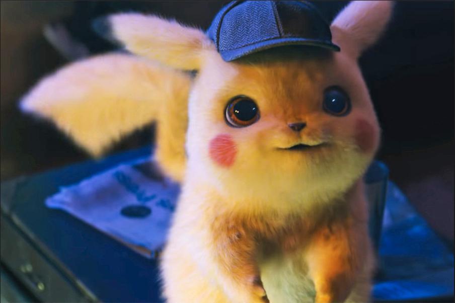 detective pikachu via Warner Bros