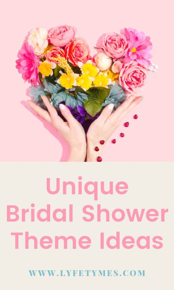 Unique bridal shower themes are fun and make it easy to get carried away when planning a shower! We've rounded up an awesome list of ideas for a bridal shower that will be unlike any other! | LYFETYMES is the #1 party planning blog.