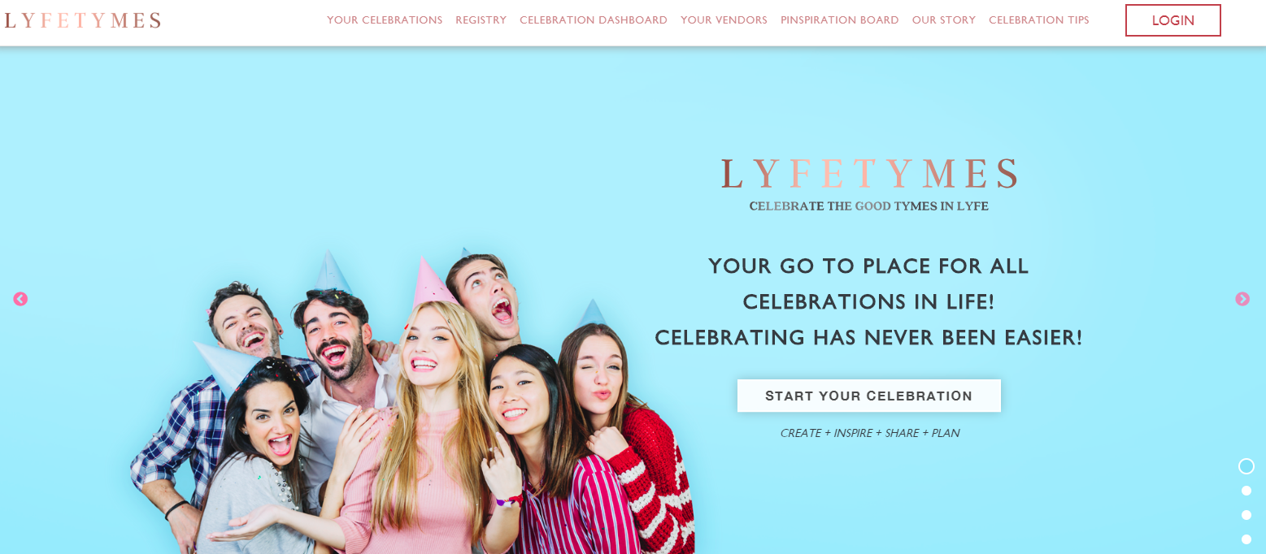 Plan any party on www.lyfetymes.com for free. Your All-In-One Party Planner