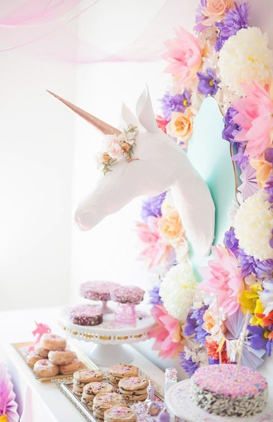 Pastel Unicorn Party