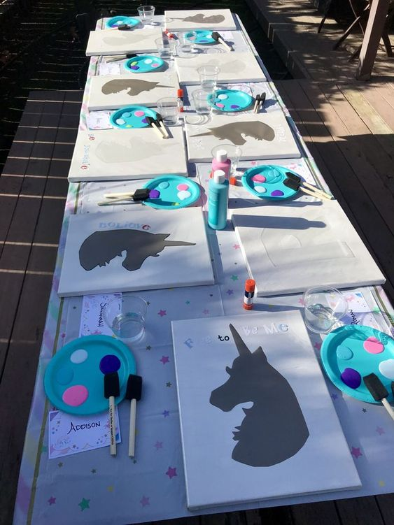 Unicorn Painting Activity