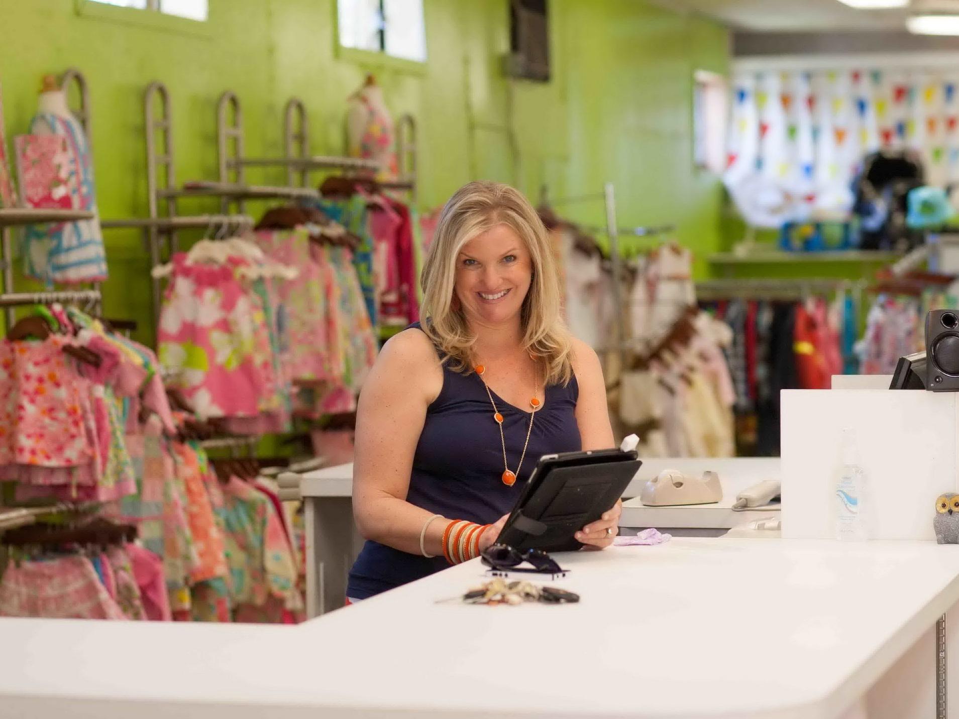 Luca Boutique Owner, Diane Jennings