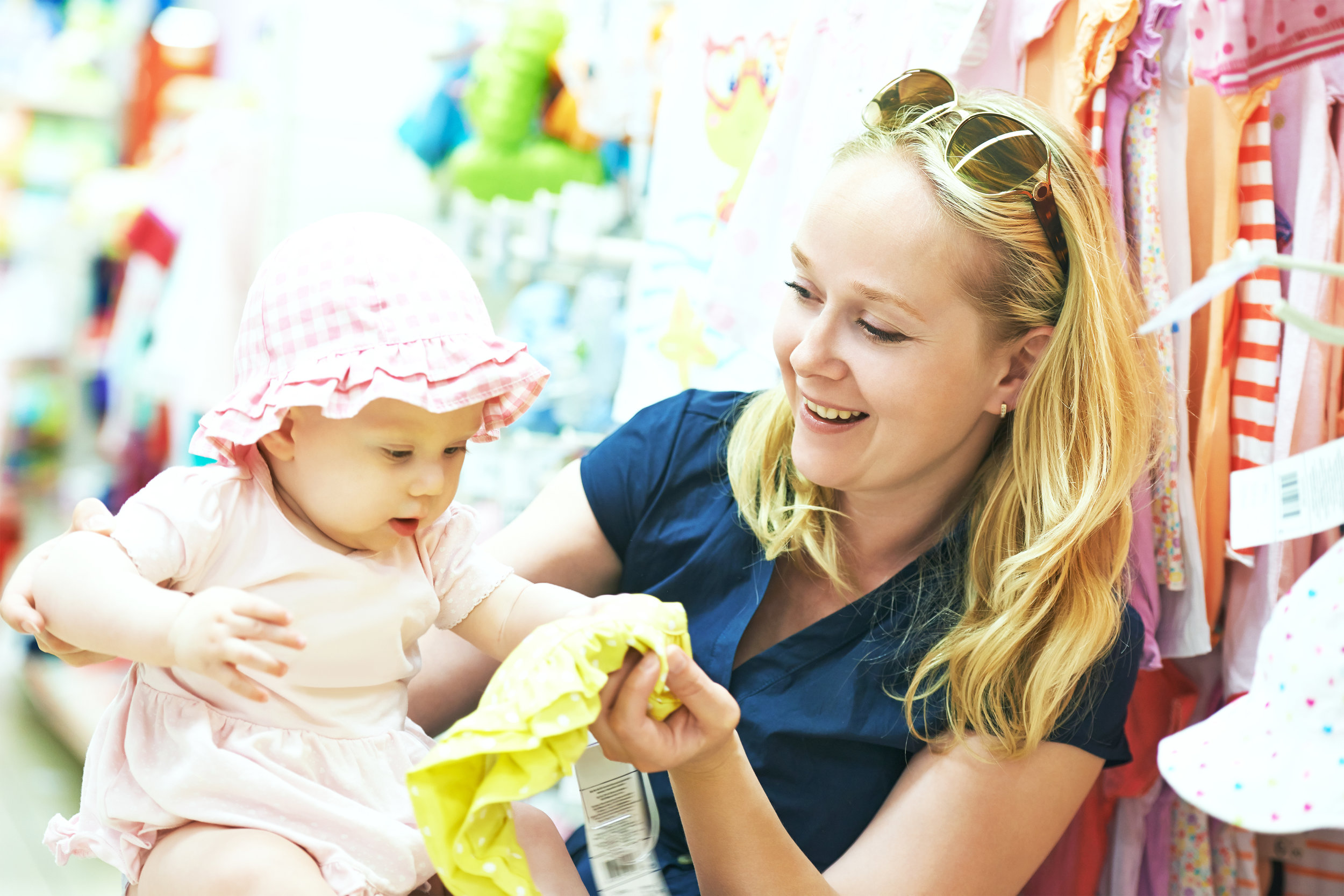 "Happy Clients - ""This is a fantastic place for children's and maternity clothes as well as many other items. The owner is very friendly and customer centered."" - Ben B."