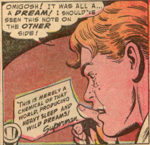 Heavy sleep is not a superpower, Superman.