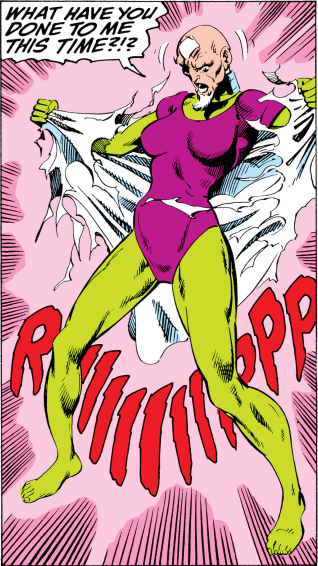 John Byrne was the pioneer to all the fucked up fan-artists you now find on DeviantArt.