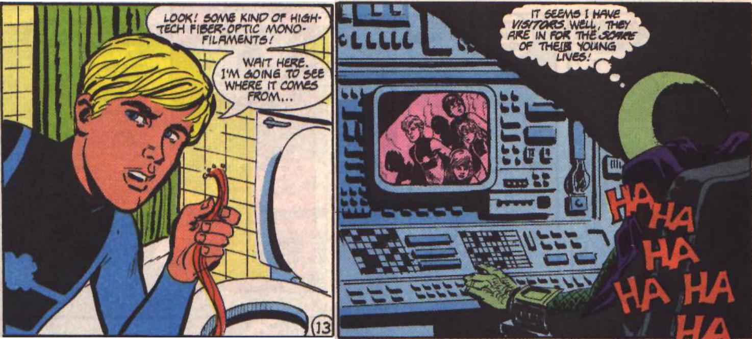 Mysterio was watching people pee?