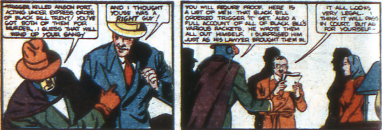 If you can't trust a masked vigilante that flouts the law, who can your trust?