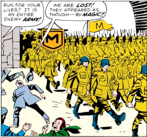 They even Goose-Step!!