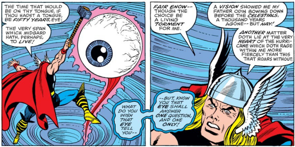 On the same note, the eye puns are also not the most painful and belaboured part of this story either.