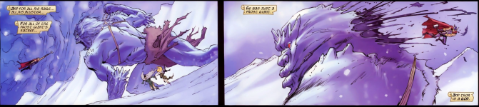 Is this a metaphor for Thor's prowess in bed?