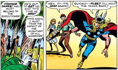 A secret identity doesn't work if you're announcing it to the world, Don.