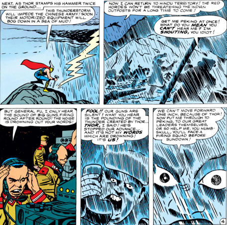 In the world of Thor, a planned invasion can be rained out like a baseball game.