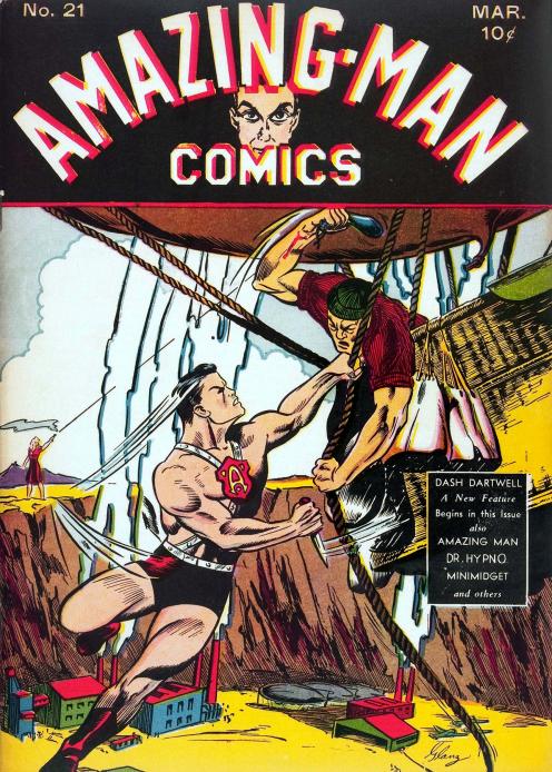 Creator Credits:    Aman - The Amazing-Man:   Uncredited   Uncle Trouble   Writer: Duke Carey  Artist: Sam J. Glanzman