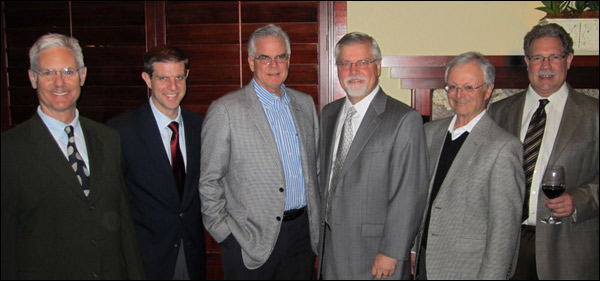 Left to right: Robin Campbell, Bob Bailey, Mark Flewelling, Rich Rasmussen, John Anglin and Steve Trytten.