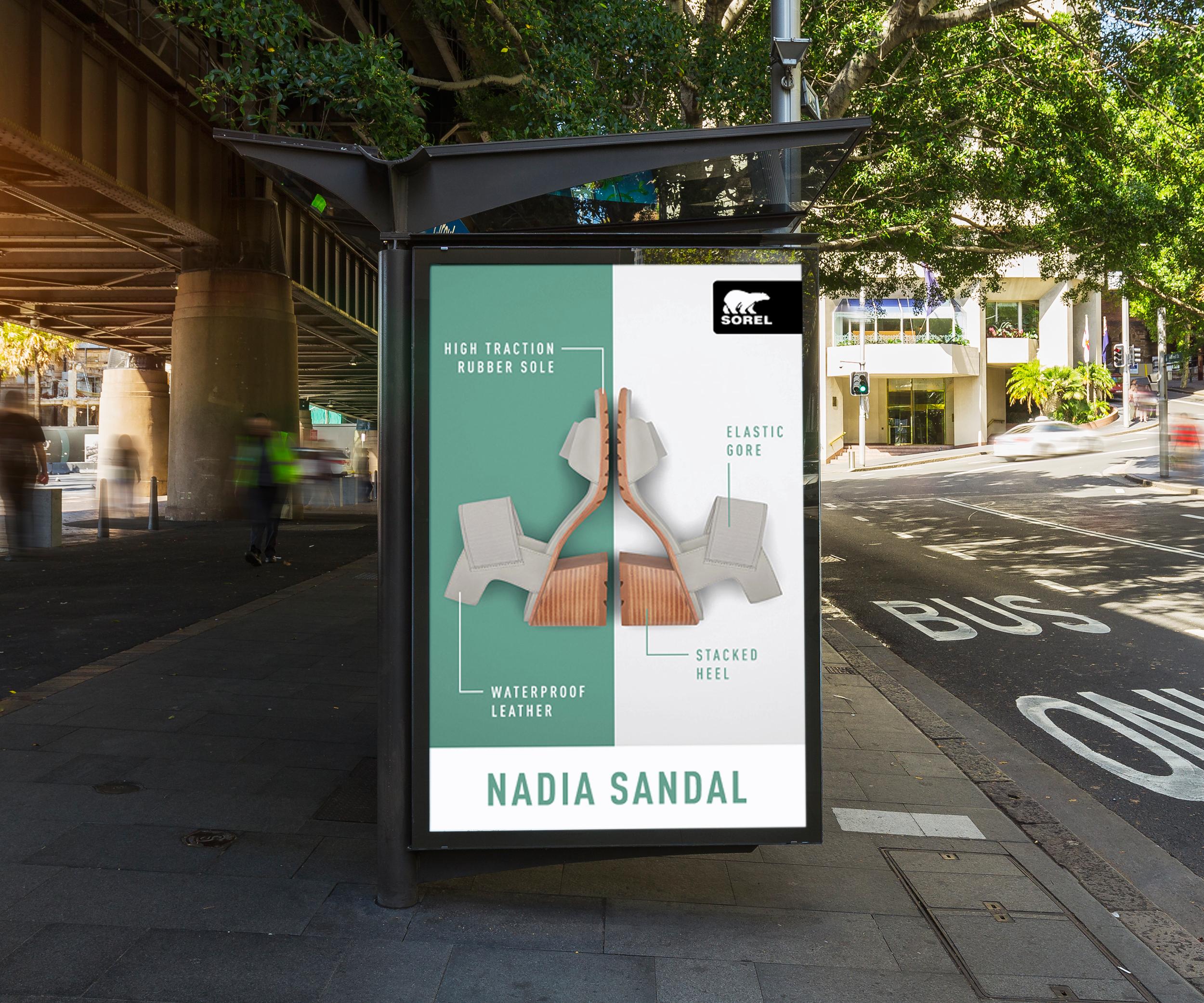 Outdoor Bus Stop Advertisement Vertical Billboard Poster Mockup PSD 2018.png