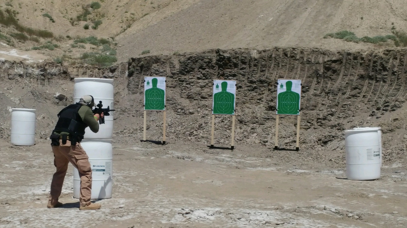 What we offer - We provide military and law enforcement style firearms training to the responsible civilian firearms user and specialized firearms and tactics training to military and law enforcement personnel.