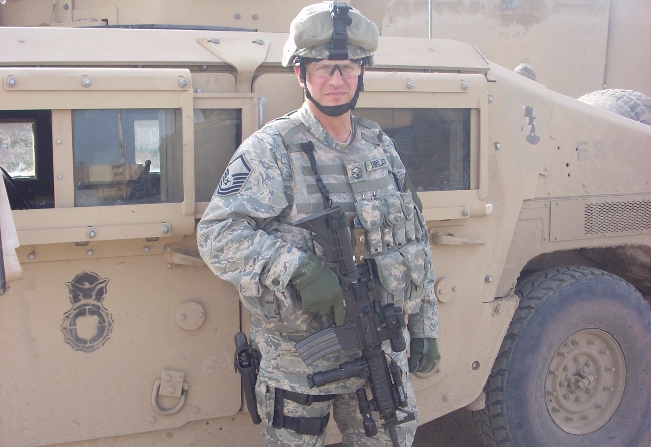 Meet the trainer - Our trainer has years of military and law enforcement experience.