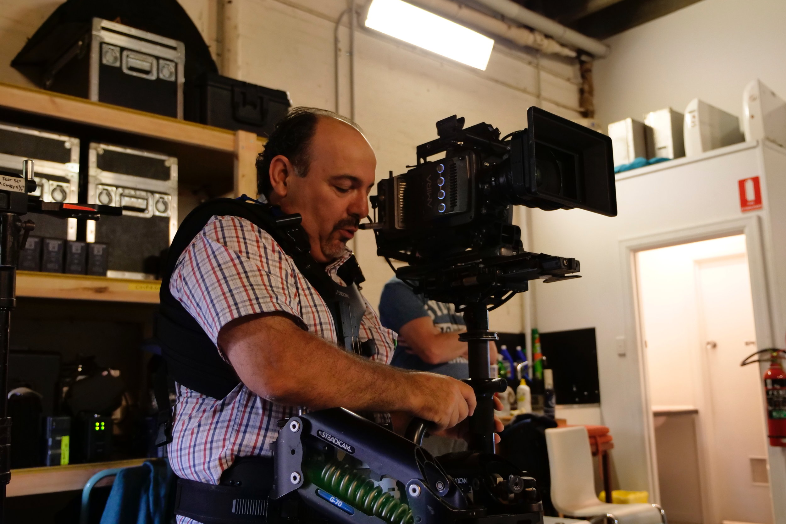 3 day Steadicam Workshop February 2018.