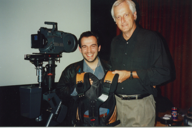 Steadicam inventor Garrett Brown 1995?