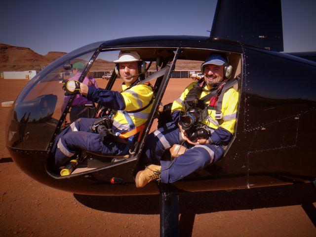 ZINFRA Aerials Pilbara WA 2013.