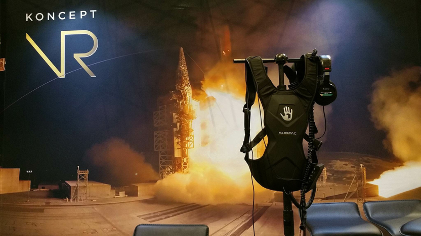 Subpack with ULA VR experience