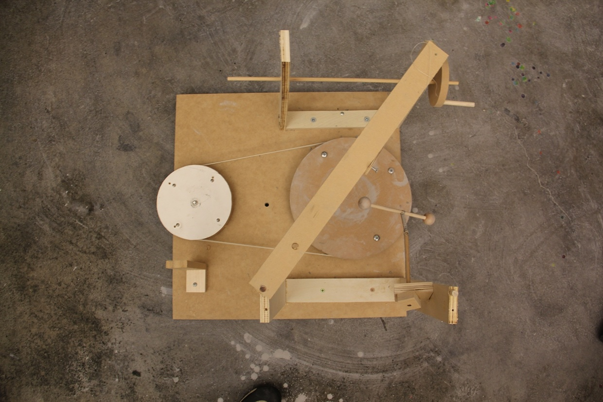 deforming machine quick prototype #1