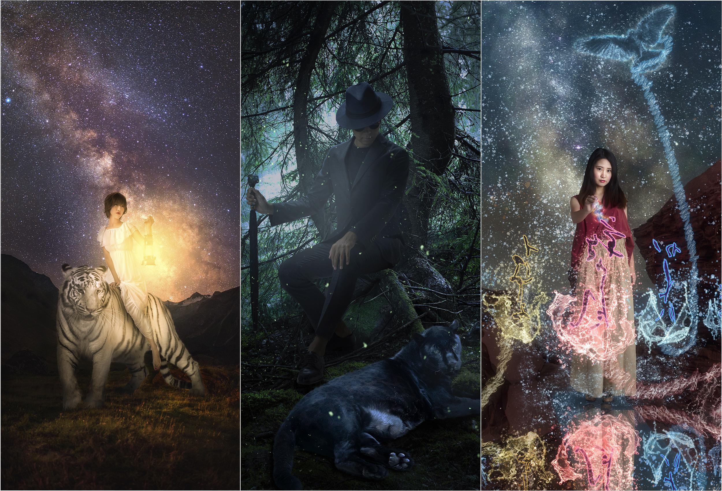 ImaginativelyM.I Photographer - Photoshopを駆使して自分の世界観と被写体の世界観を融合させて編集し作品として仕上げる