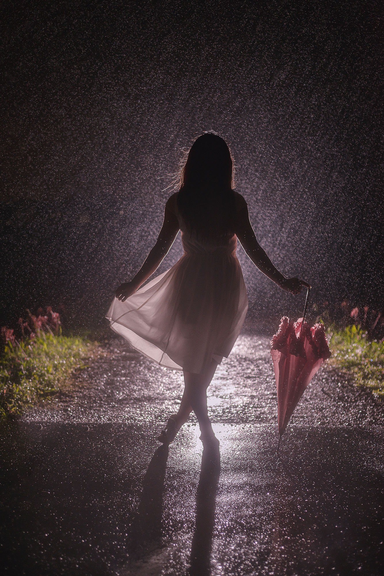 carving, photography, portrait, photo, woman, 写真、ポートレート、 美しい、 女性、雨ポートレート、rain portrait, night、夜