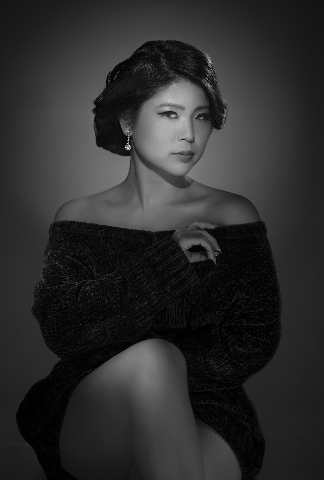 carving, contrast, photography, portrait, black and white, photo, woman, コントラスト、 白黒、 写真、ポートレート、 美しい、 女性