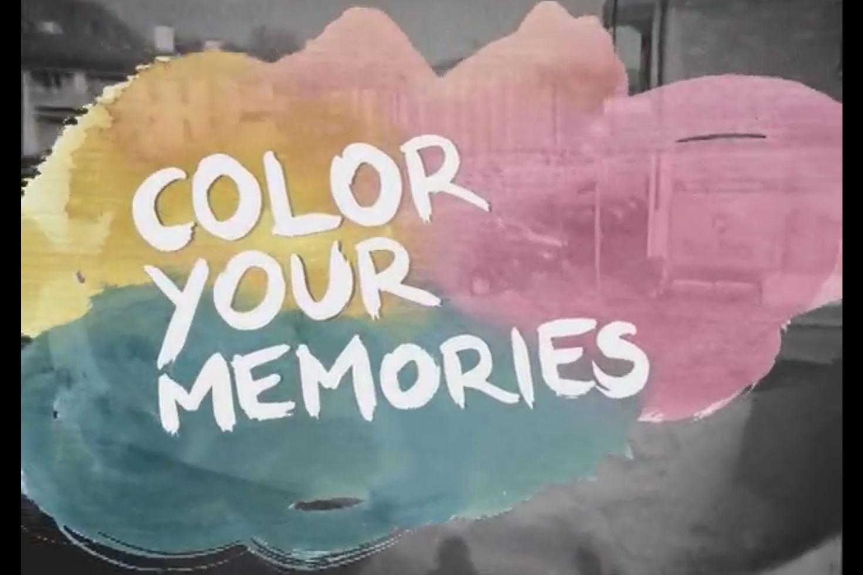 """Cliquez pour regarder la """"Color Your Memories""""    !"""